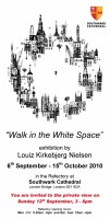 """Walk in the White Space"" private invitation from Louiz"